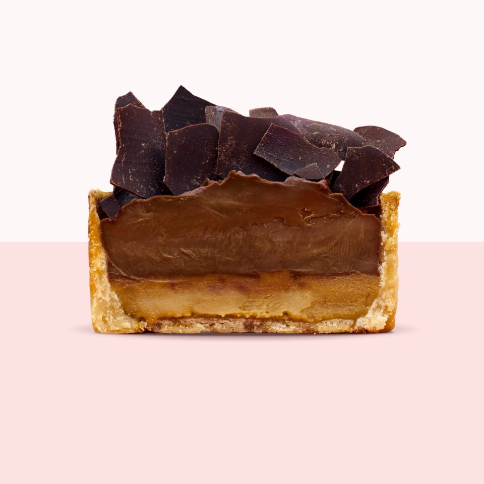 Chocolate Tart Cutaway